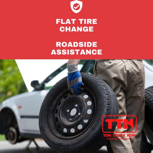 Flat Tire Change