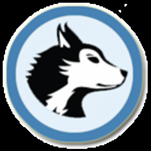 Hayhurst Husky Logo