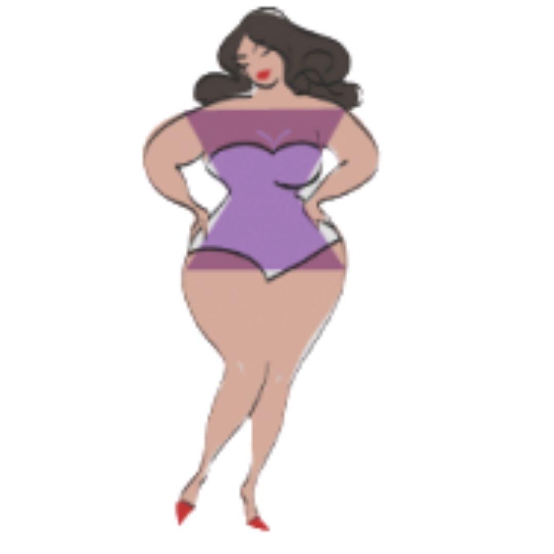 Hourglass - Small waist, Full bust, full hips