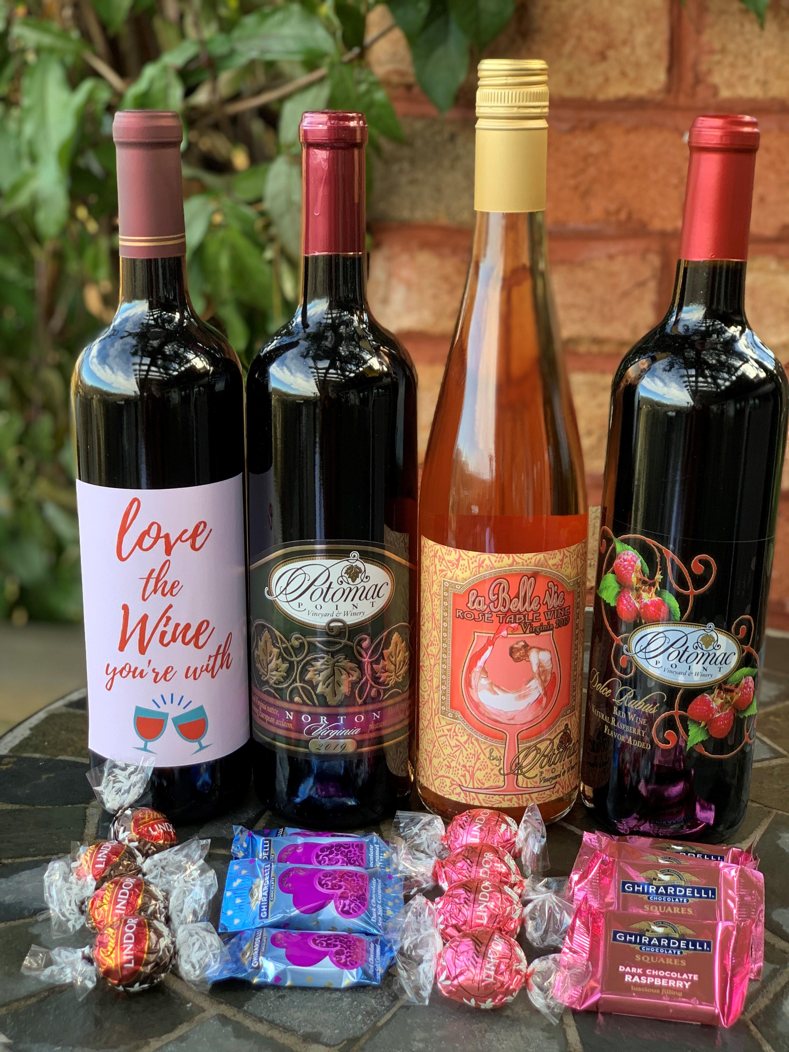 Chocolate & Wine Pairing Kit