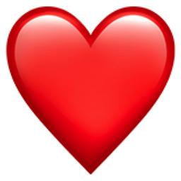 image of a heart emoji