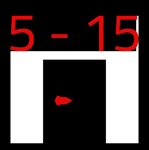 5 - 15