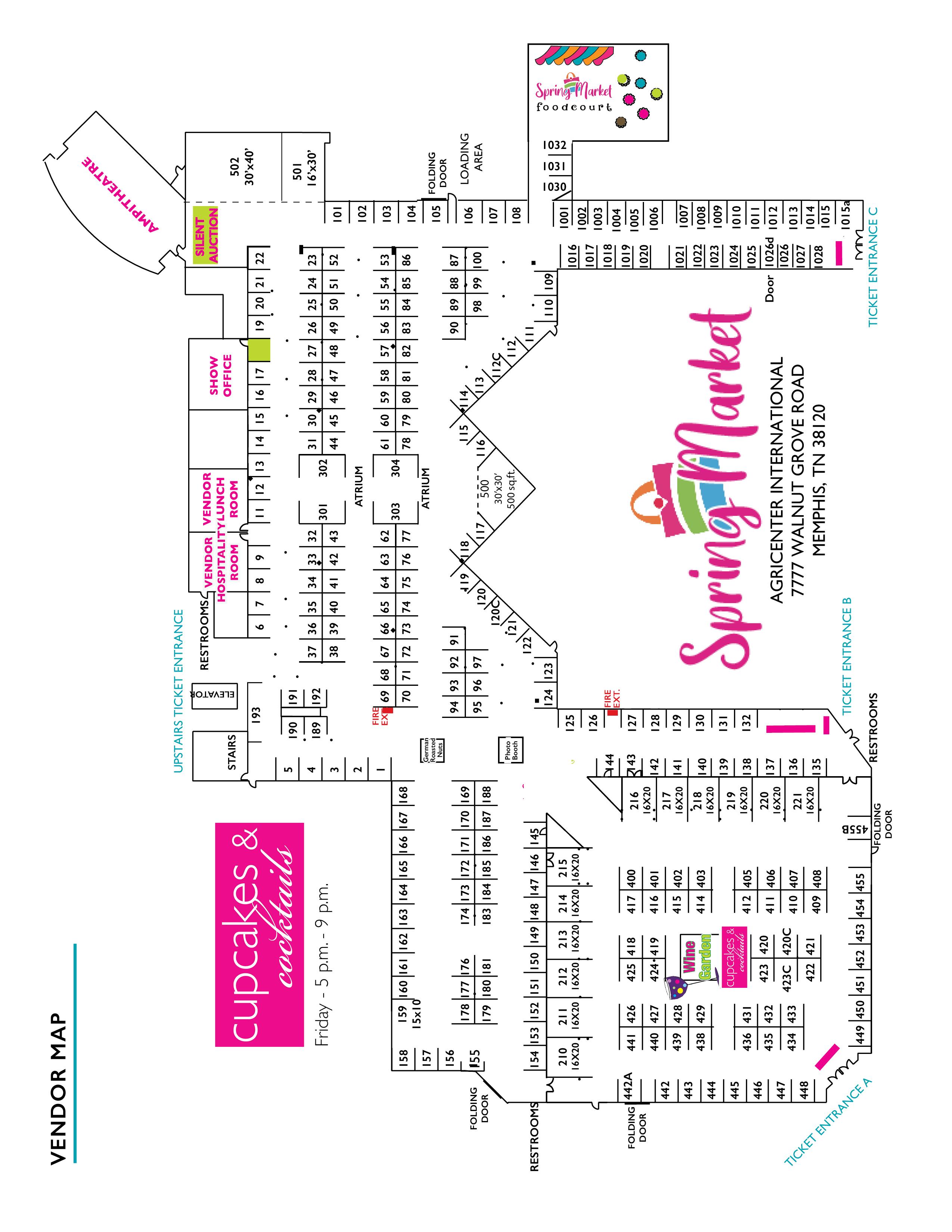 Jackson show map