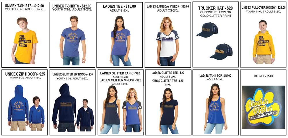 Linda Vista Spiritwear 2019-2020
