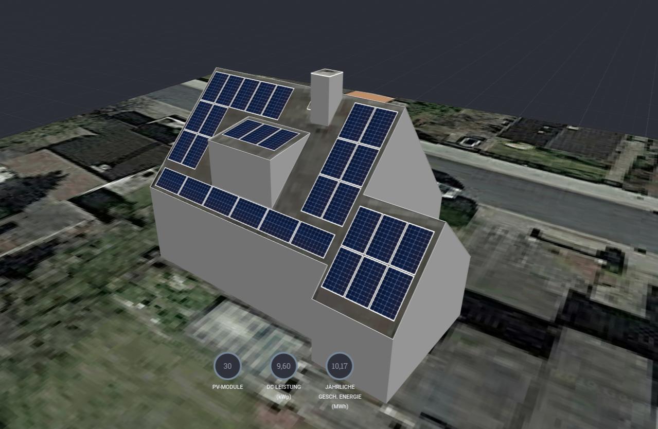 nach Empfehlung der Solarstars