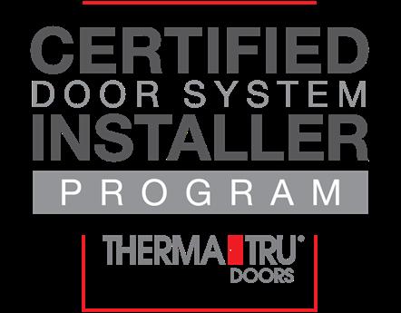 ThermaTru Doors - Certified Door System Installer Program