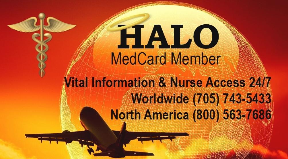 Number of HALO MEDCARDS