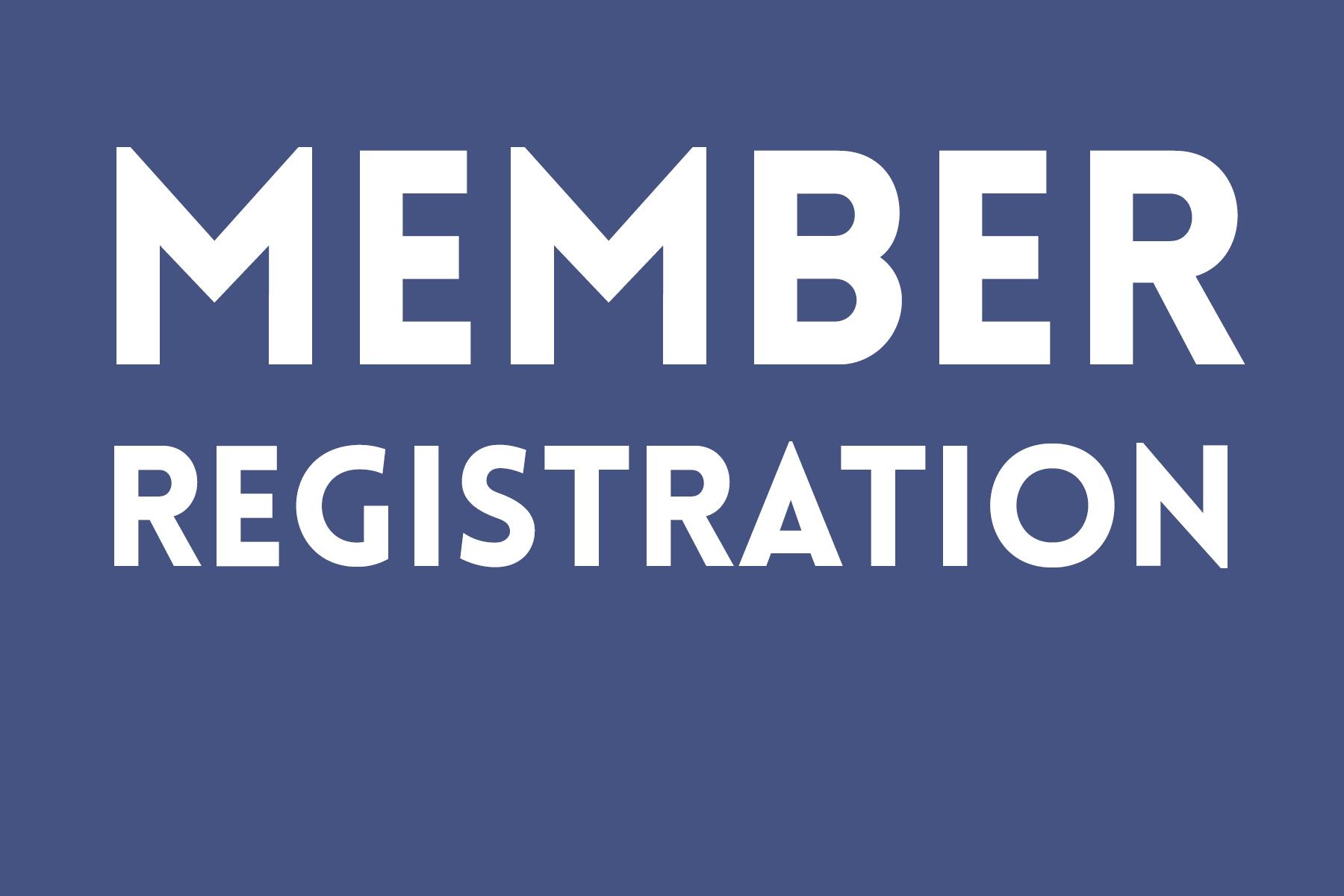 ACM MEMBER REGISTRATION