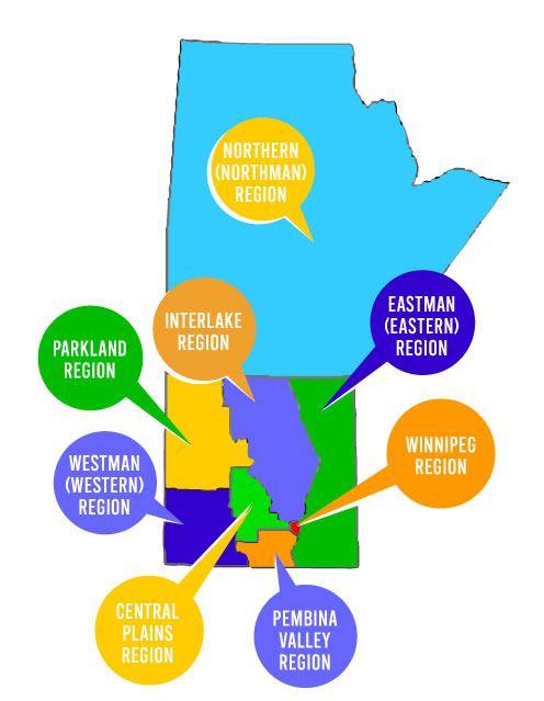 Manitoba Regions