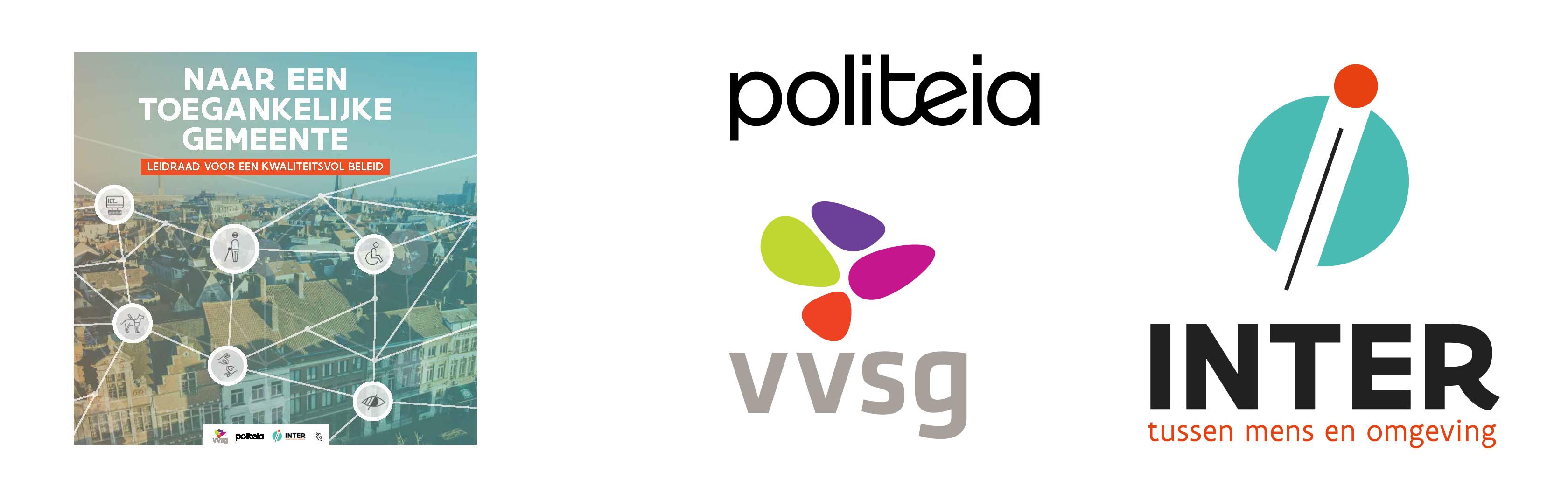cover publicatie en logo's Politeia, VVSG en Inter