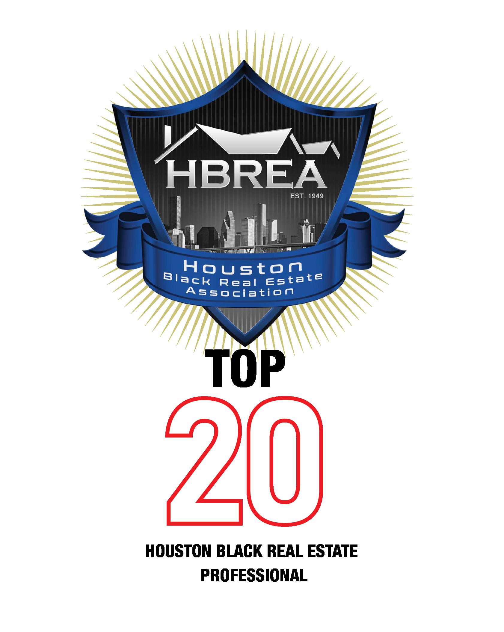 HBREA TOP 20 Award Application Form