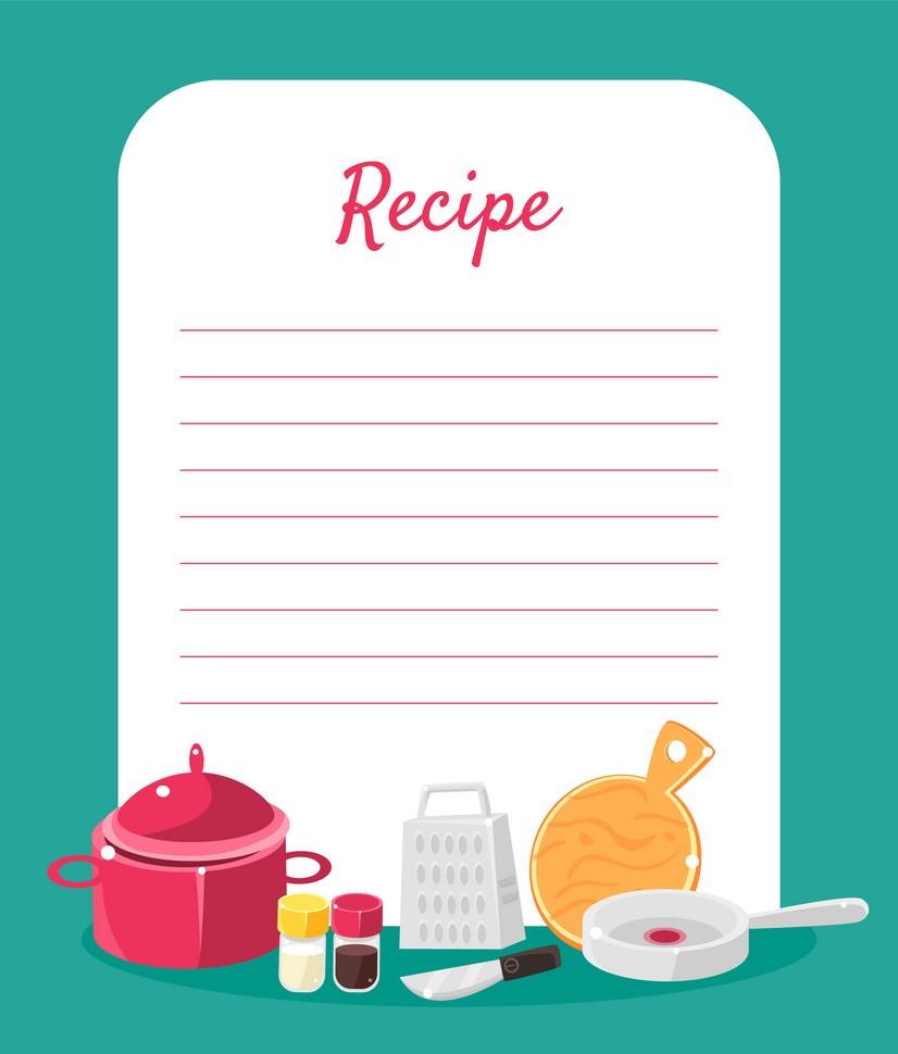 One New Recipe