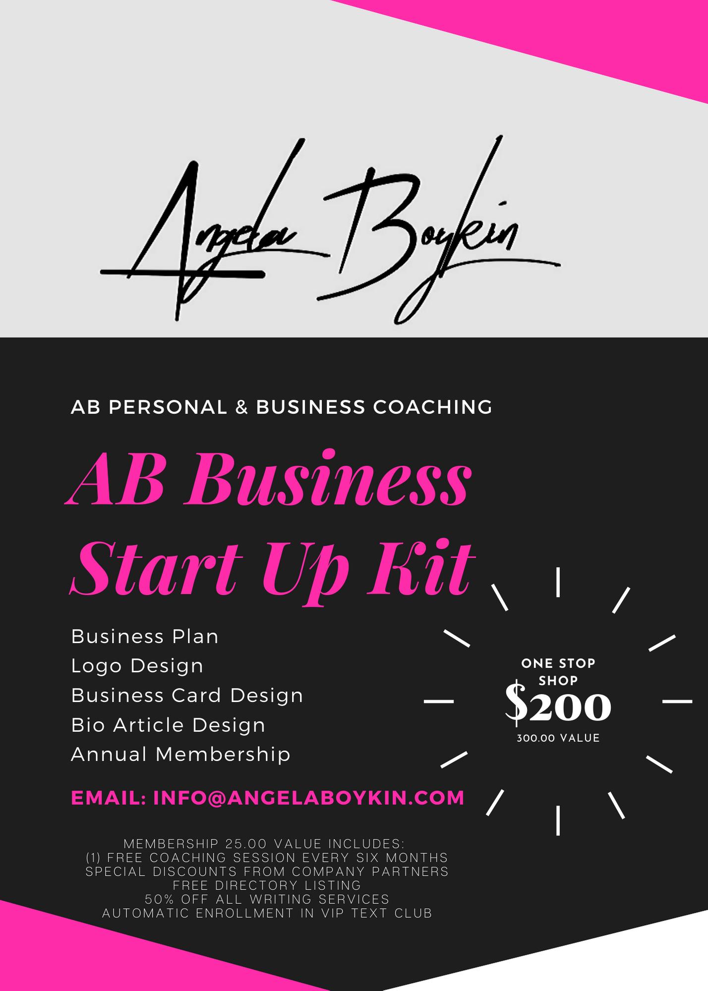 AB Business Start Up Kit