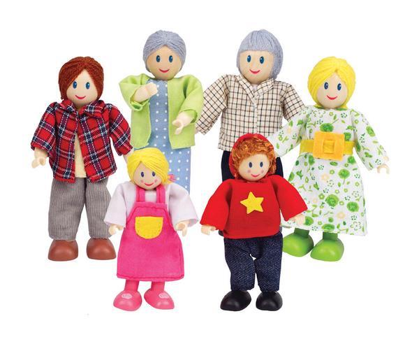 Happy Family Caucasian 068-3500