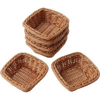 Square Plastic Woven Baskets 104-88