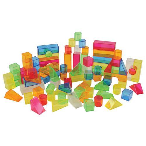 Transparent Light and Colour Blocks 350-31535