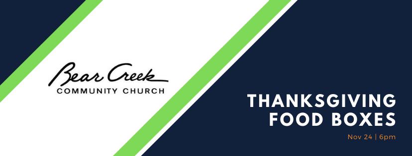 BCCC Thanksgiving Food Box Giveaway Nov-24-2020