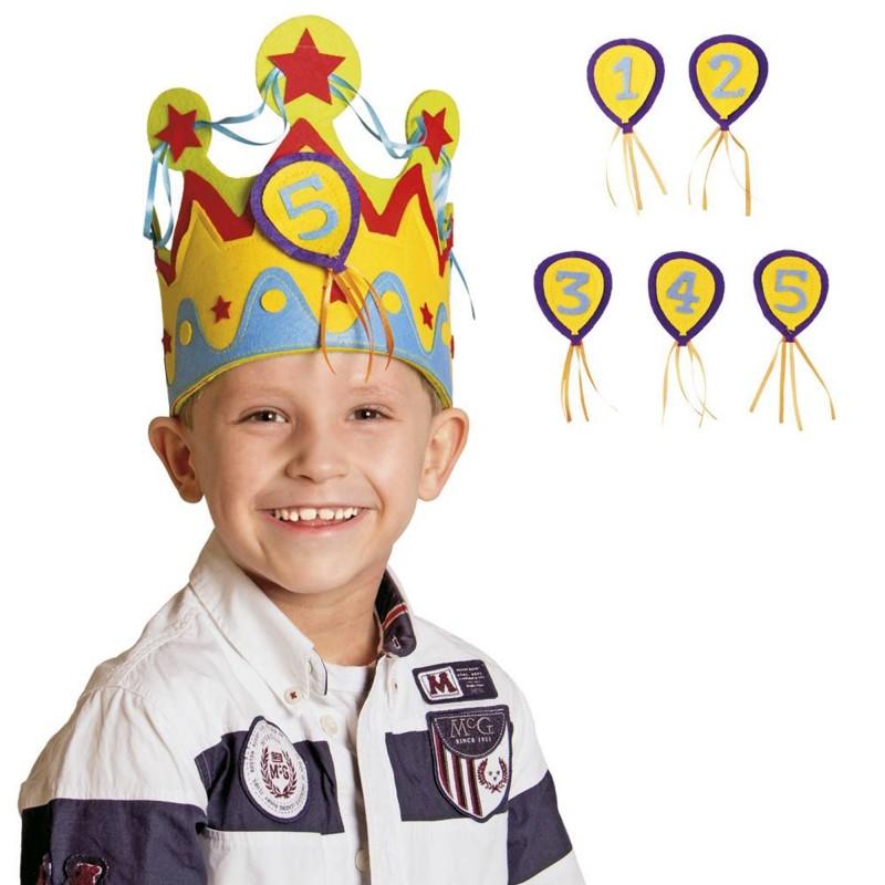 Corona de cumpleañero - 8€/niño