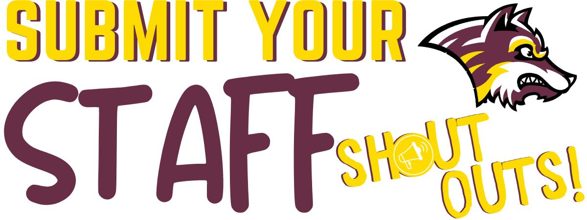 Staff Shoutout