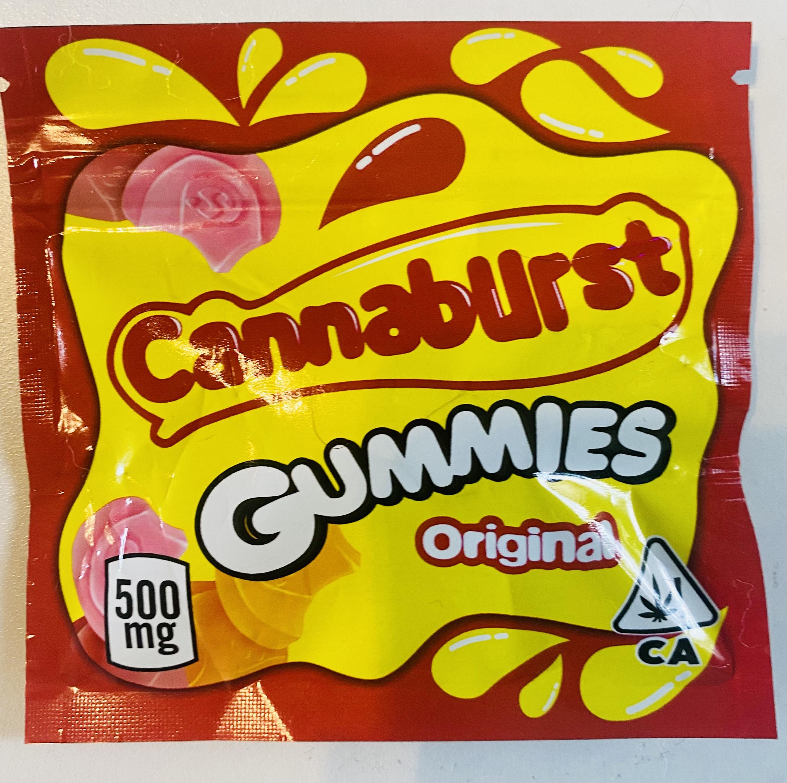 CANNABURST GUMMIES ✴️ (500mg)