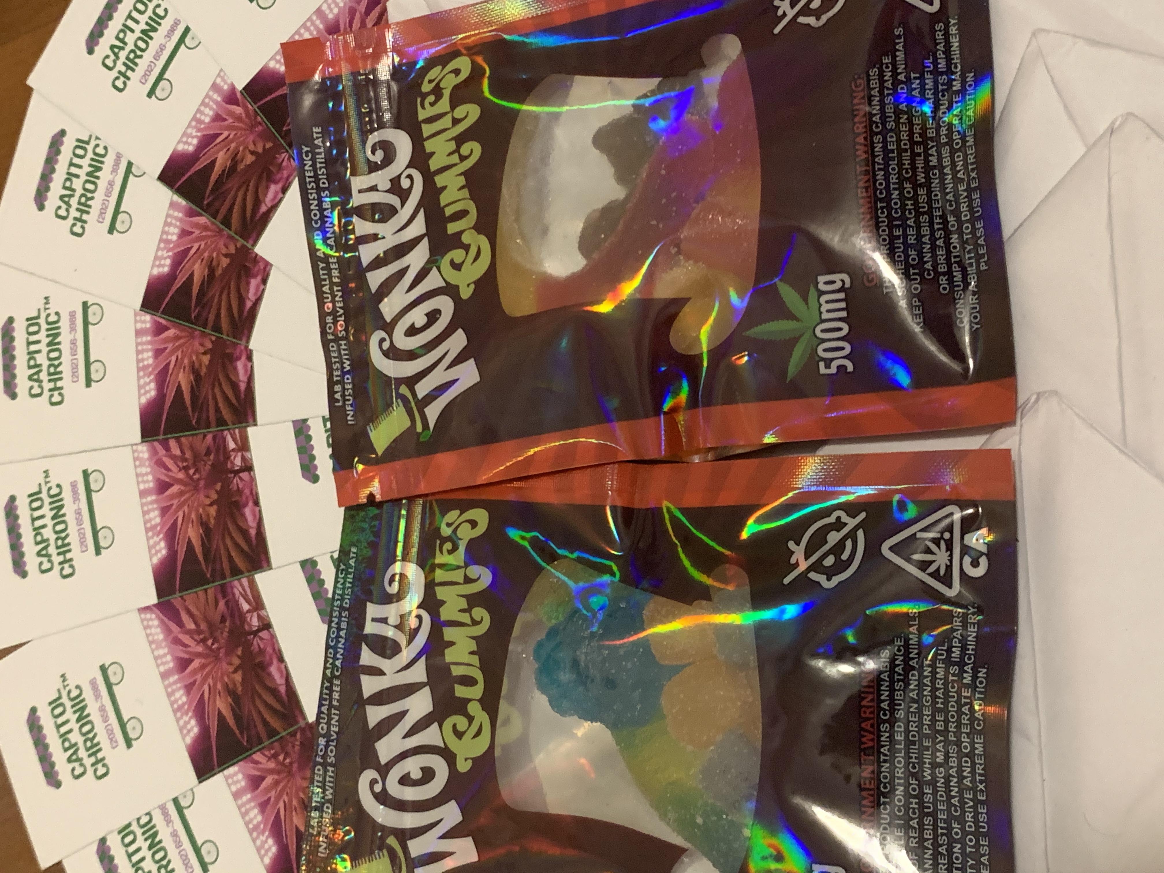 Wonka Gummies (500MG)