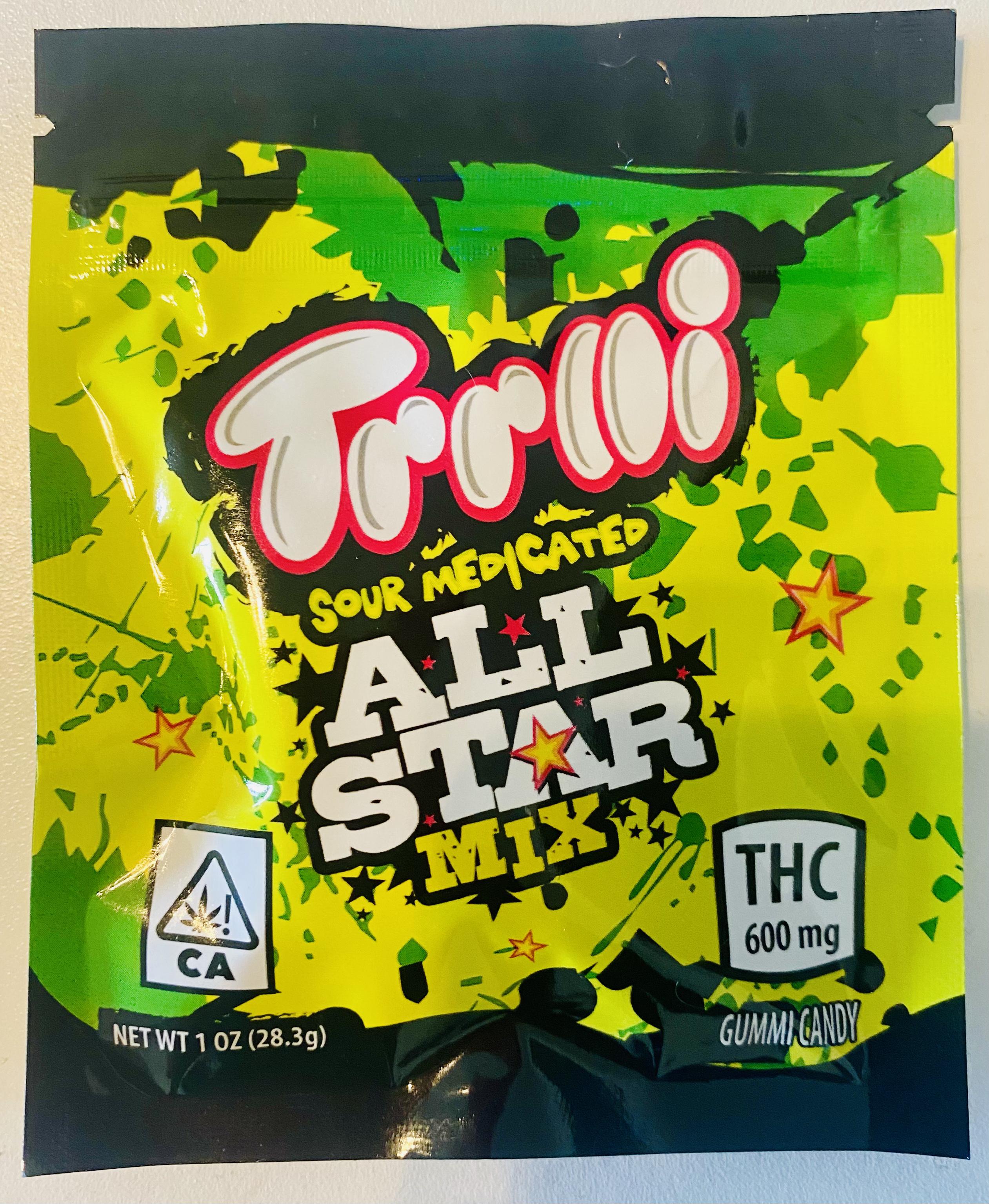 TRRLLI SOUR ALL-STAR MIX 🍋  (600 MG)