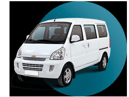 6 pasajeros minivan