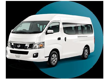 14 pasajeros Van