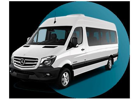 20 pasajeros Van