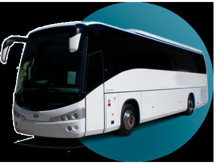 45 pasajeros Bus