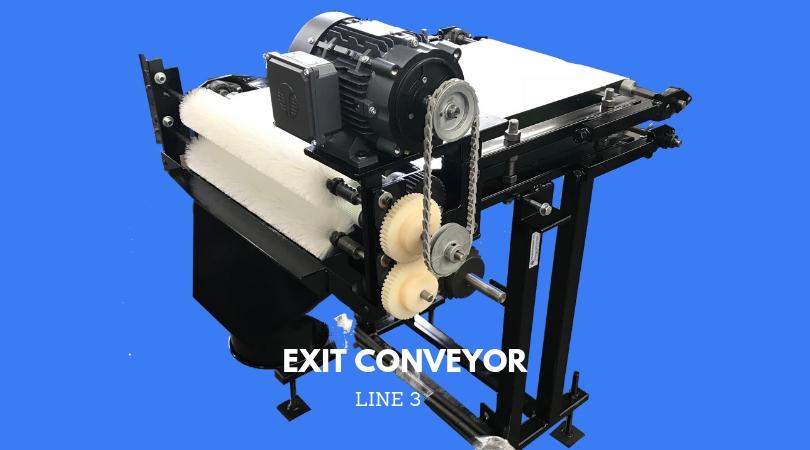 THIRD LINE: EXIT CONVEYOR