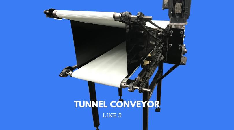 FITH LINE: TUNNEL CONVEYOR
