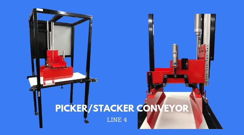 FOURTH LINE: PICKER ARM / STACKER CONVEYOR