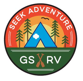 Girl Scouts River Valleys Seek Adventure Logo