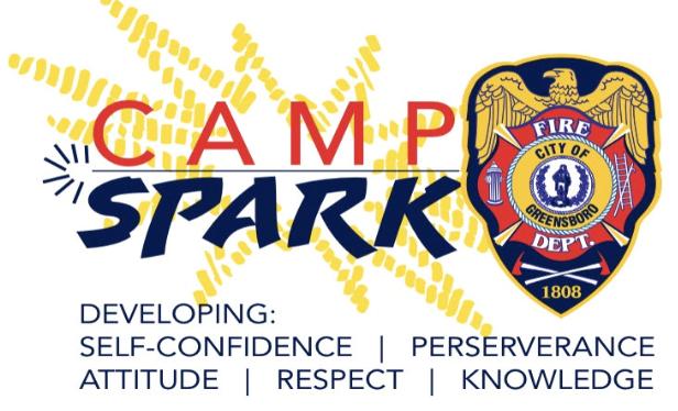 Camp Spark Logo