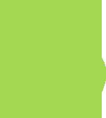 City of Greensboro Leafy Green Logo