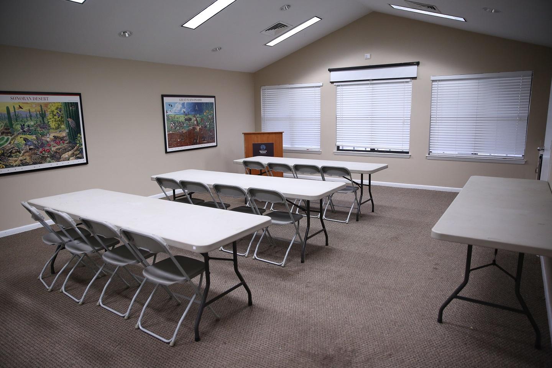 Visitor Center Room