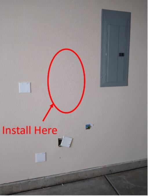 example of installation location