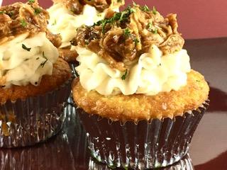 Jack Daniel's Tennessee Honey Pulled Chicken Cupcake
