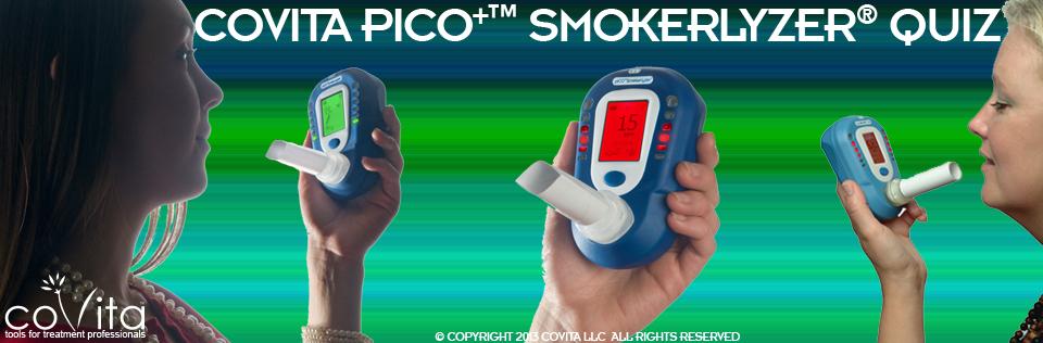 coVita piCO+ Smokerlyzer Quiz