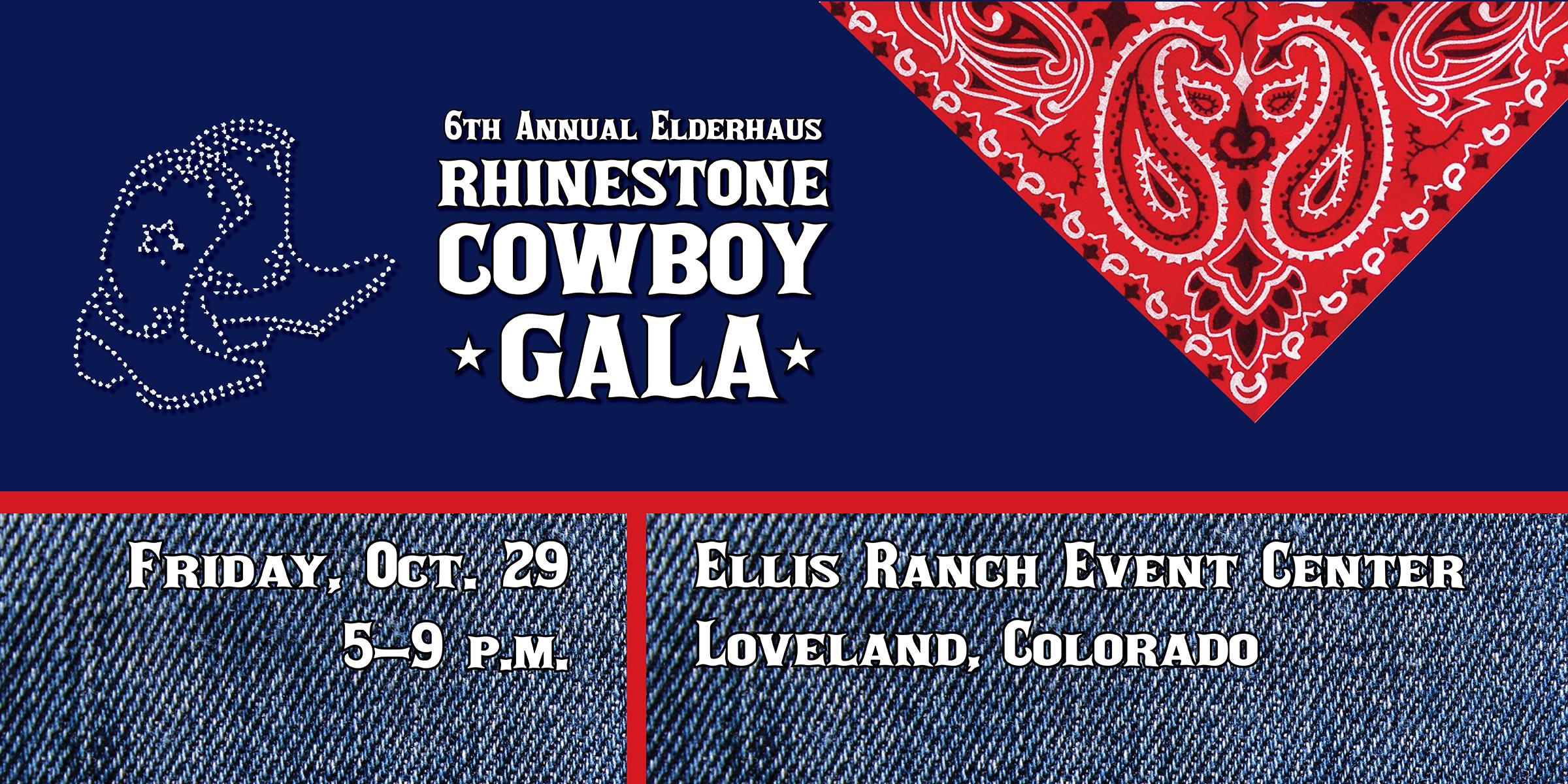 6th Annual Elderhaus Rhinestone Cowboy Gala