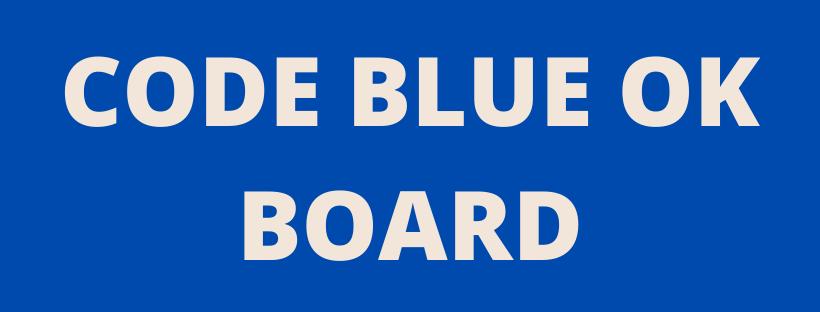 code BLUE OKB