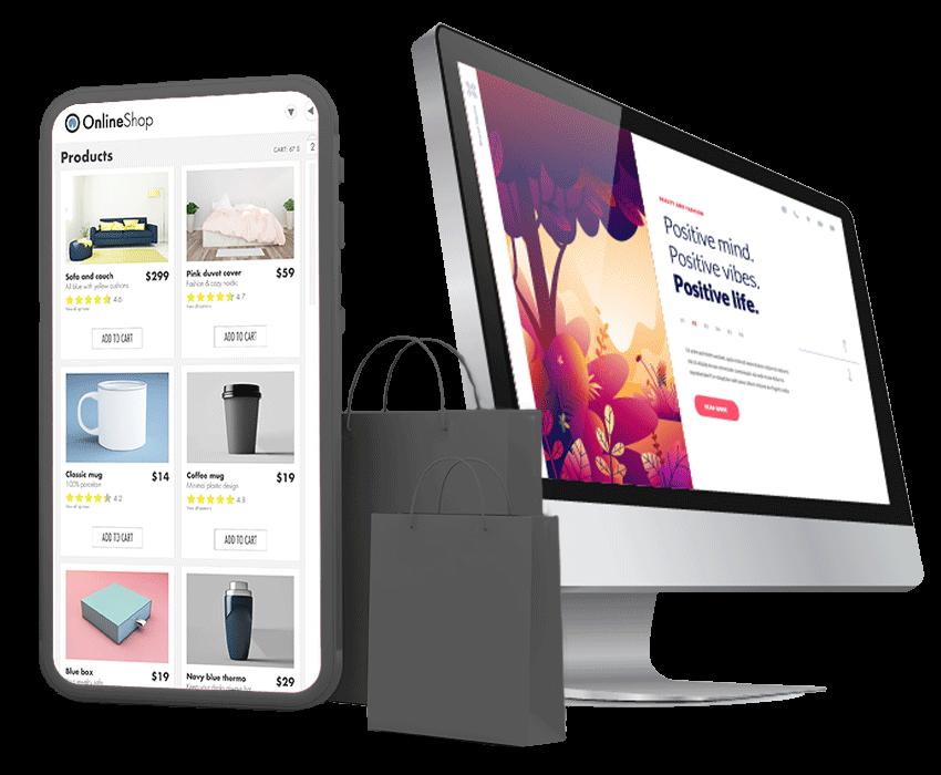 Webseite & Shop