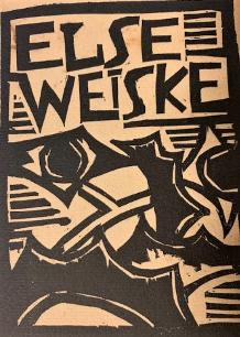 "Karl Scmidt-Rottluff, ""Else Weiske"", 1914, woodcut, 4 x 5 in."