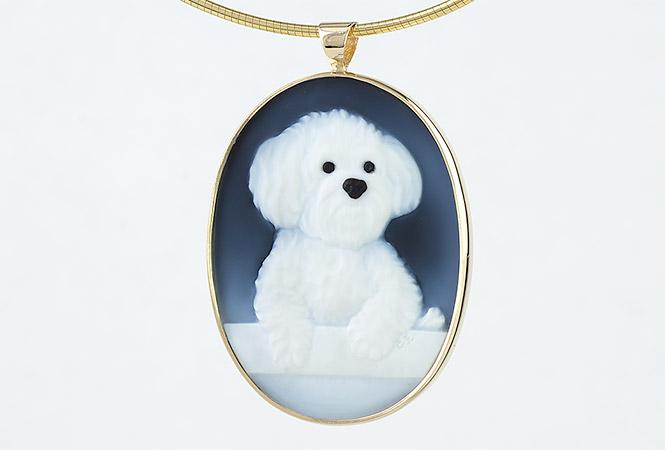pet-portrait-gemstone-cameo-necklace