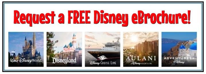 Request a  FREE Disney eBrochure