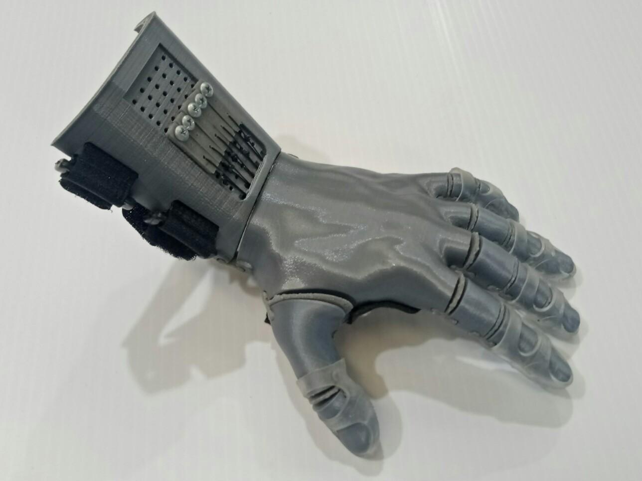 3D Hand (Left)
