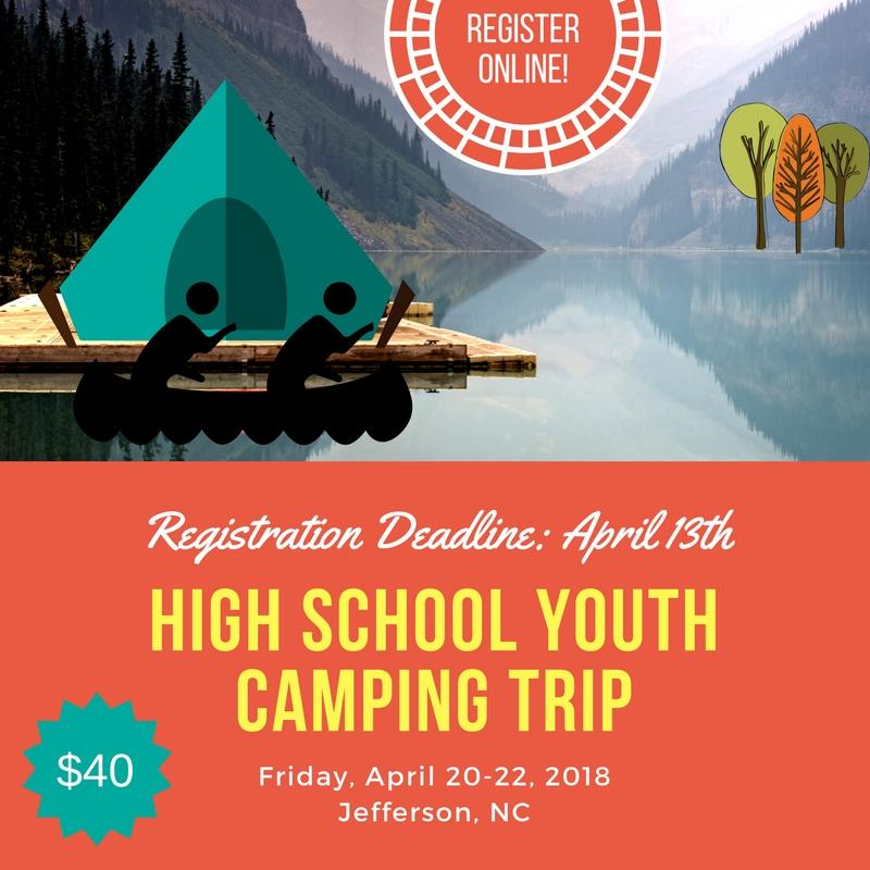 High School Camping Trip 2018