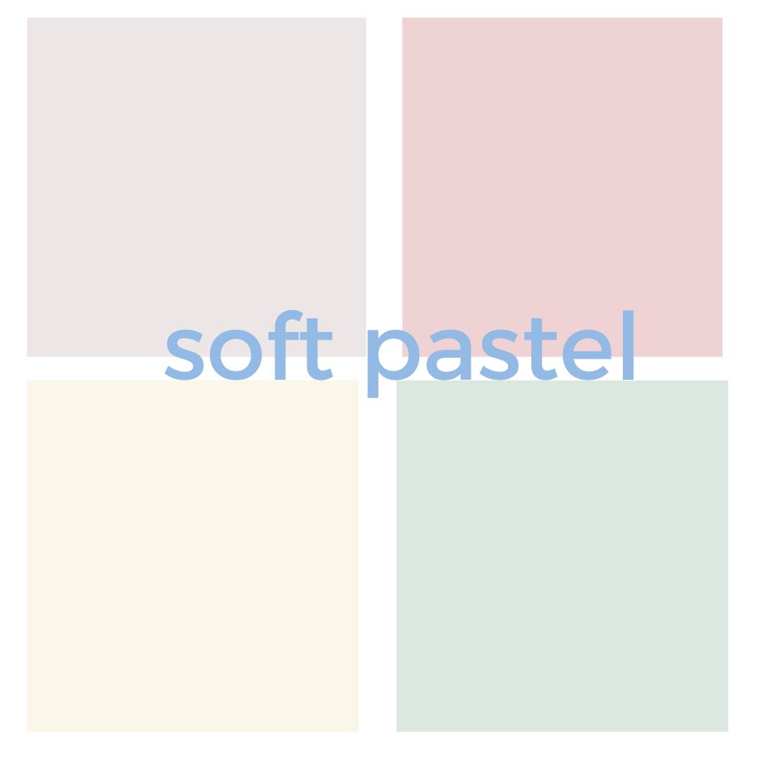 Softest pastel