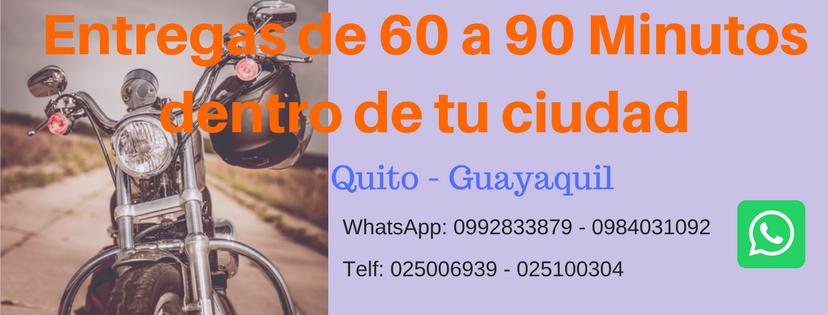 Mensajeria Express Entregas en 90 Minutos en Quito y Guayaquil